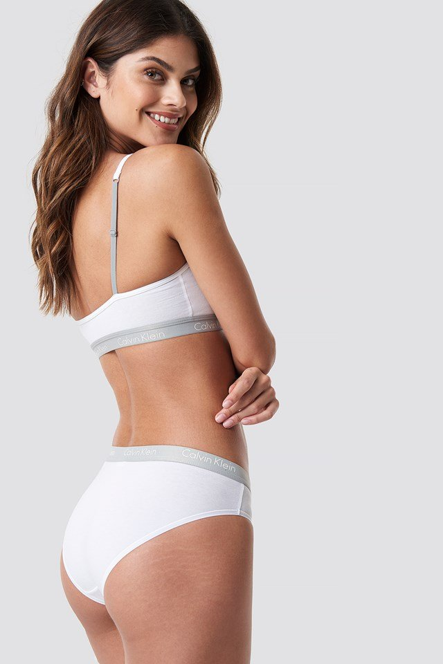Bikini One Cotton White
