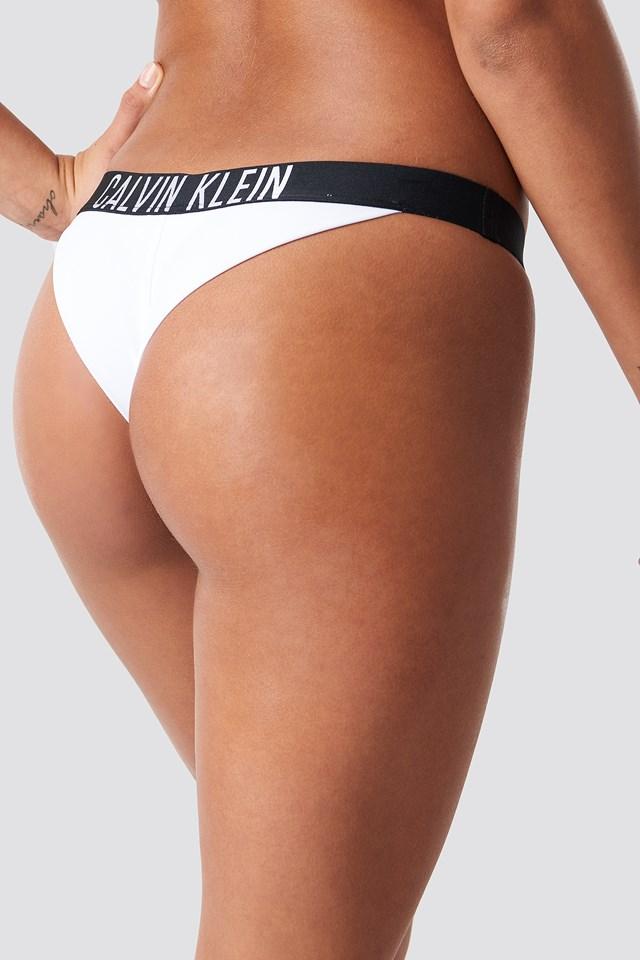 Brazilian Bikini Bottom PVH White