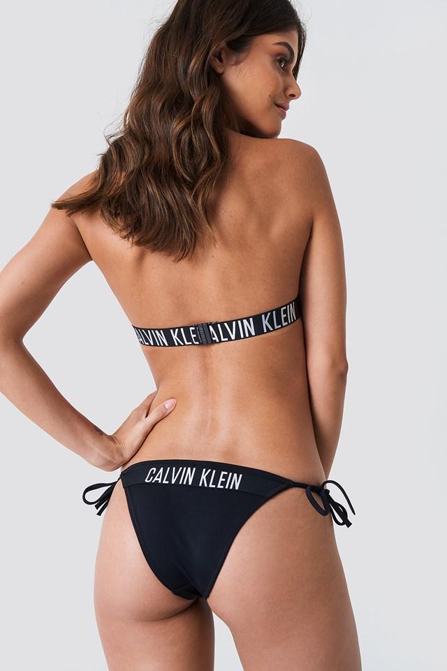 Cheeky String Side Tie Bikini Panties PVH Black