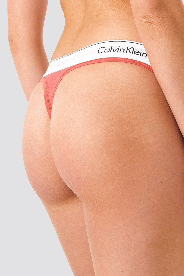 Coordinate Logo Thong Fire Lily