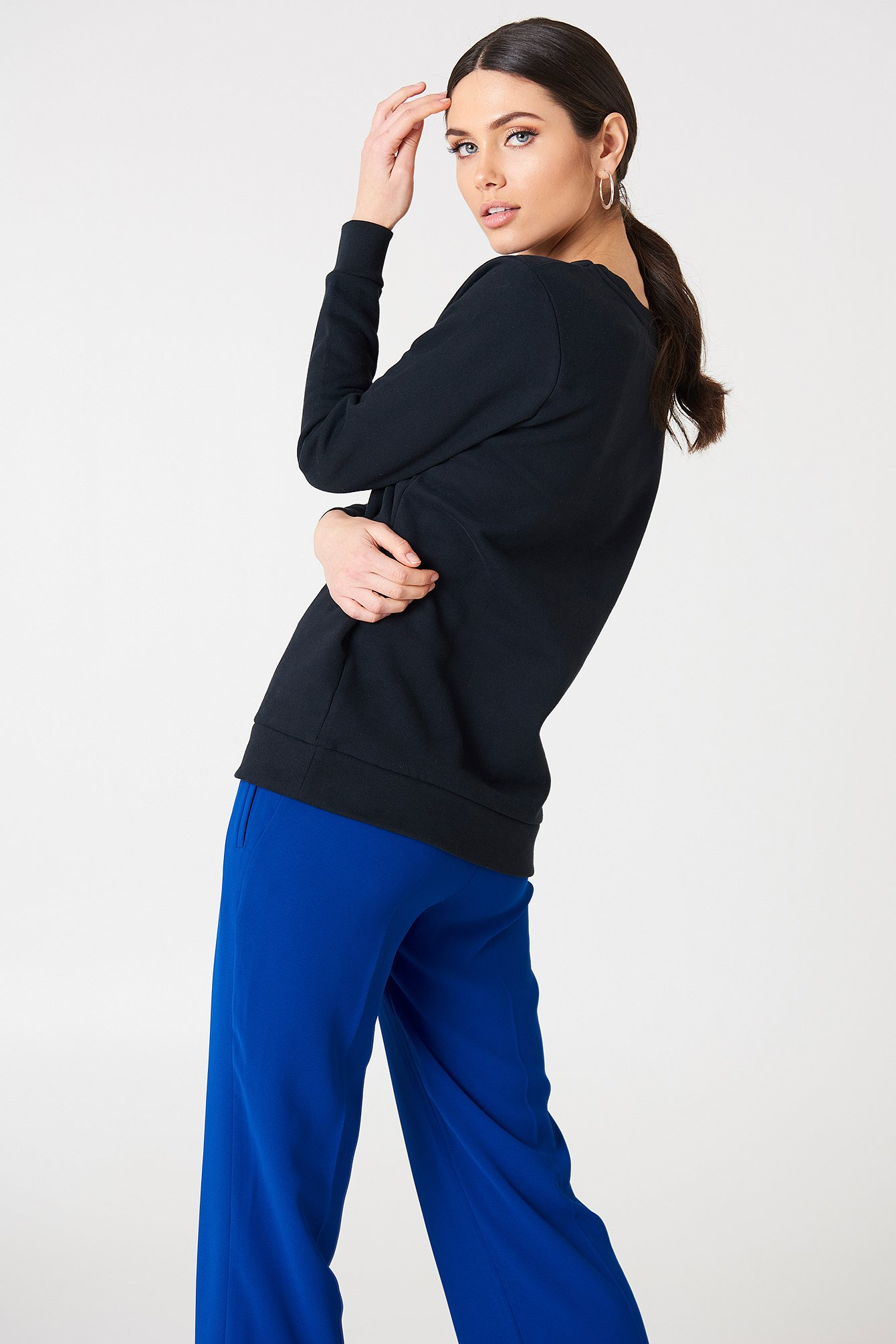 Core Fit 78 Sweater NA-KD.COM