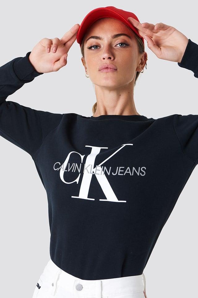 Bluza Core Monogram Logo Calvin Klein
