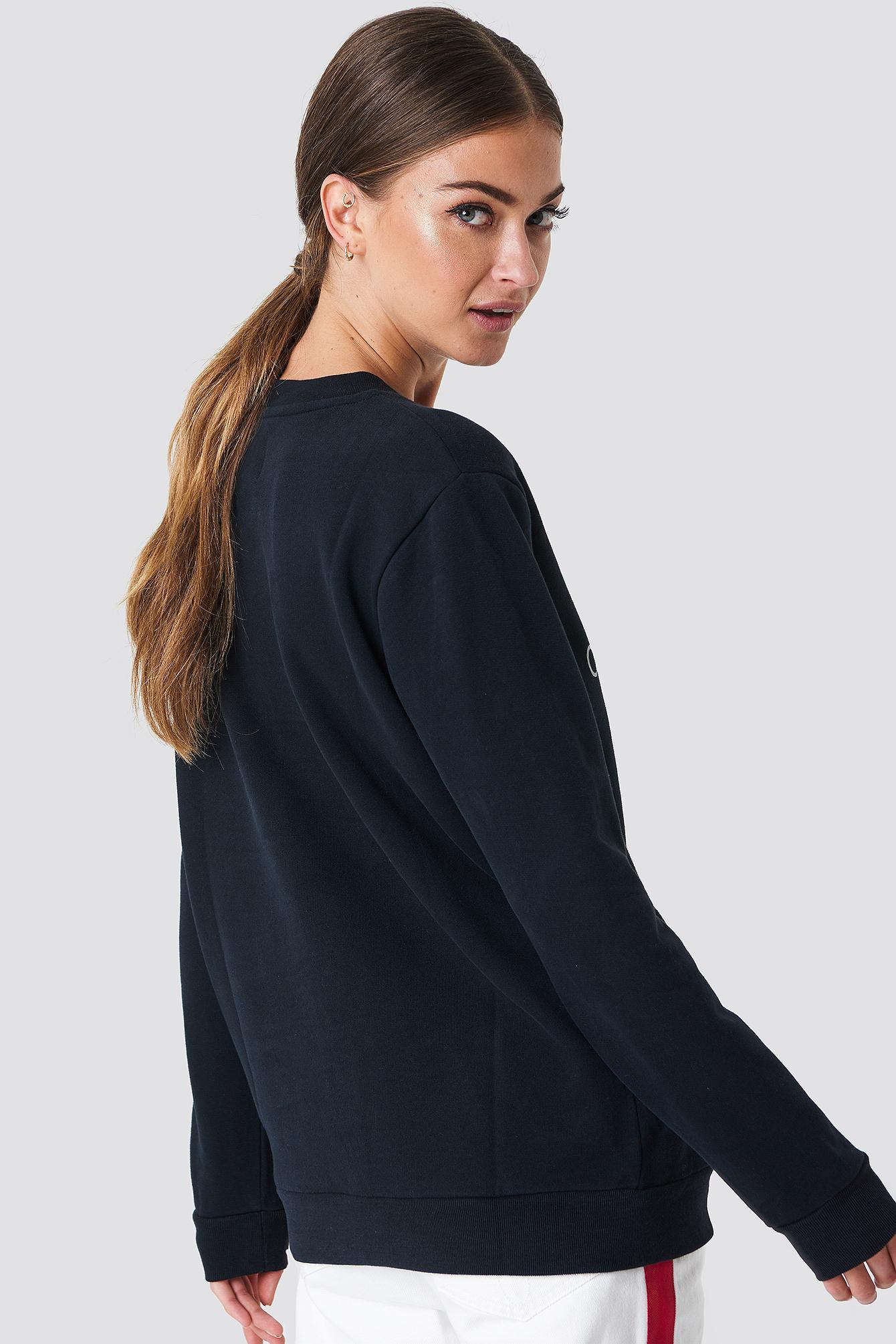 Core Monogram Logo Sweatshirt NA-KD.COM