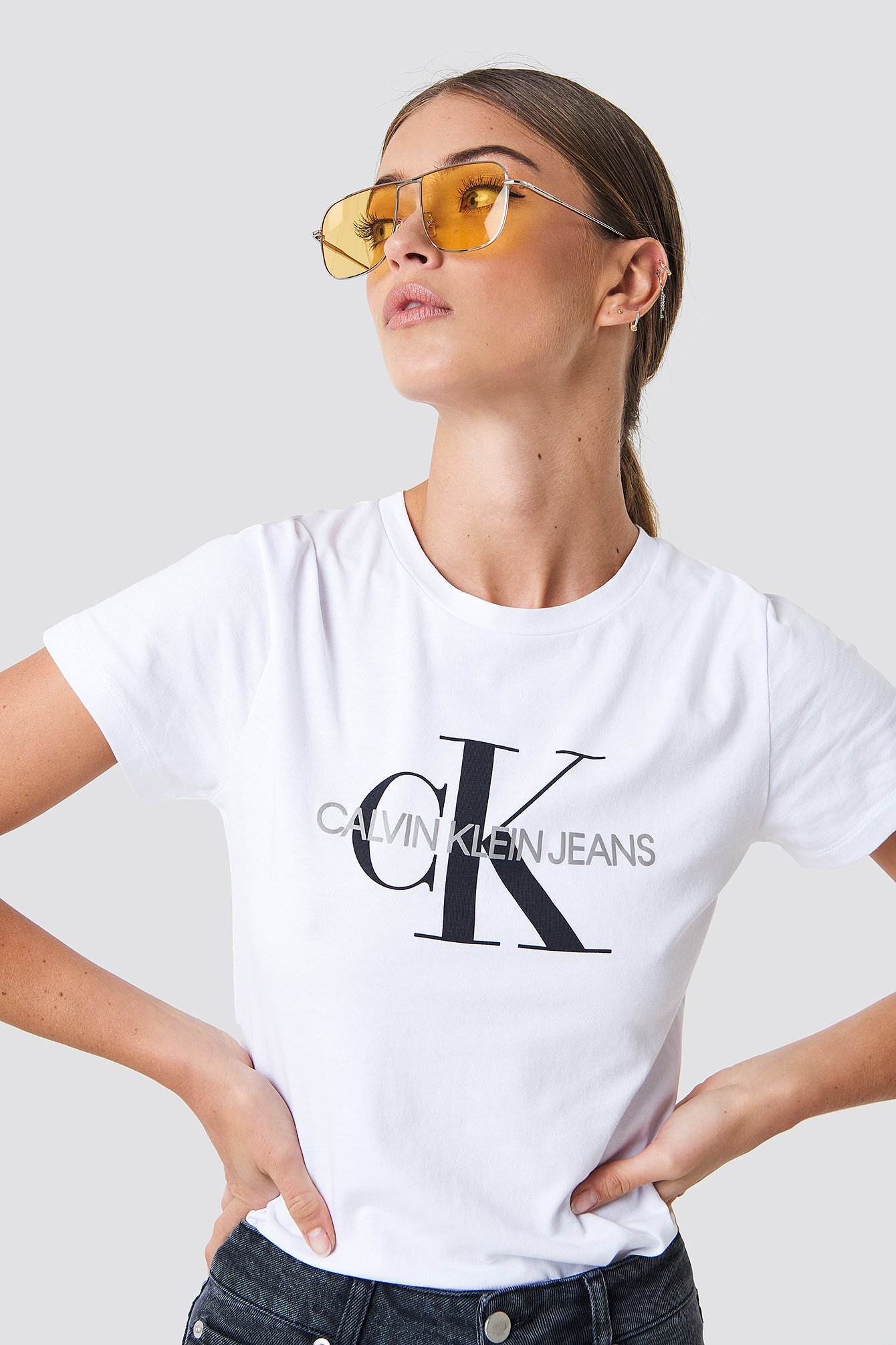 T-shirt Core Monogram Logo NA-KD.COM