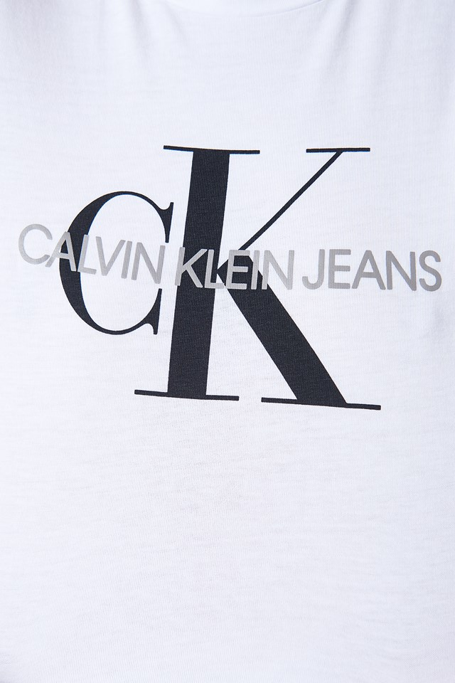 T-shirt Core Monogram Logo Bright White
