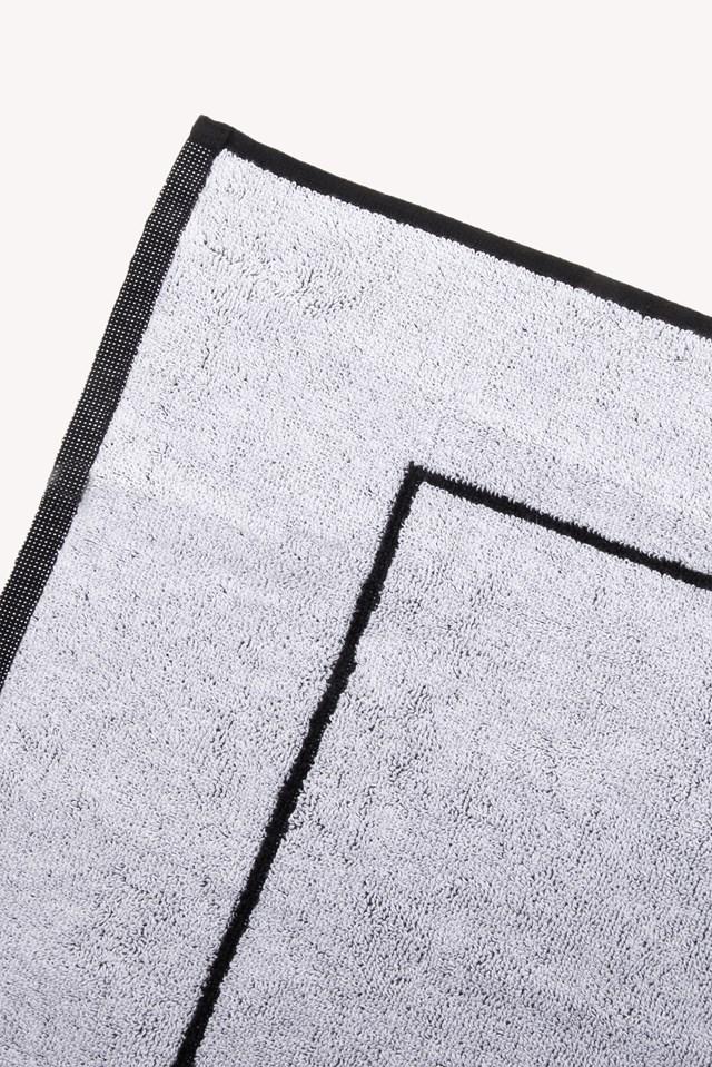 Cotton Beach Towel Black