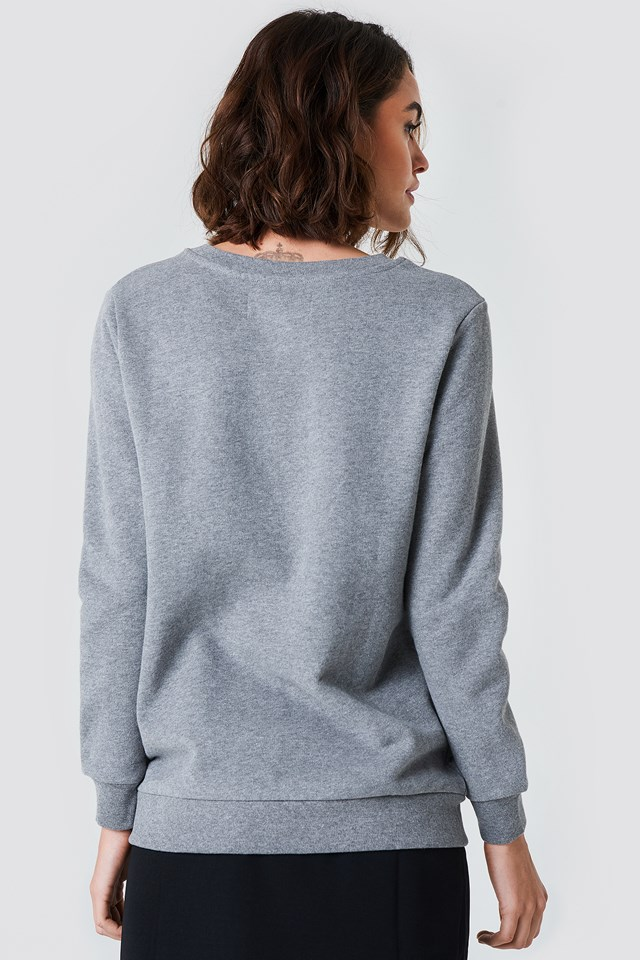 Bluza Crew Neck True Icon Light Grey Heather