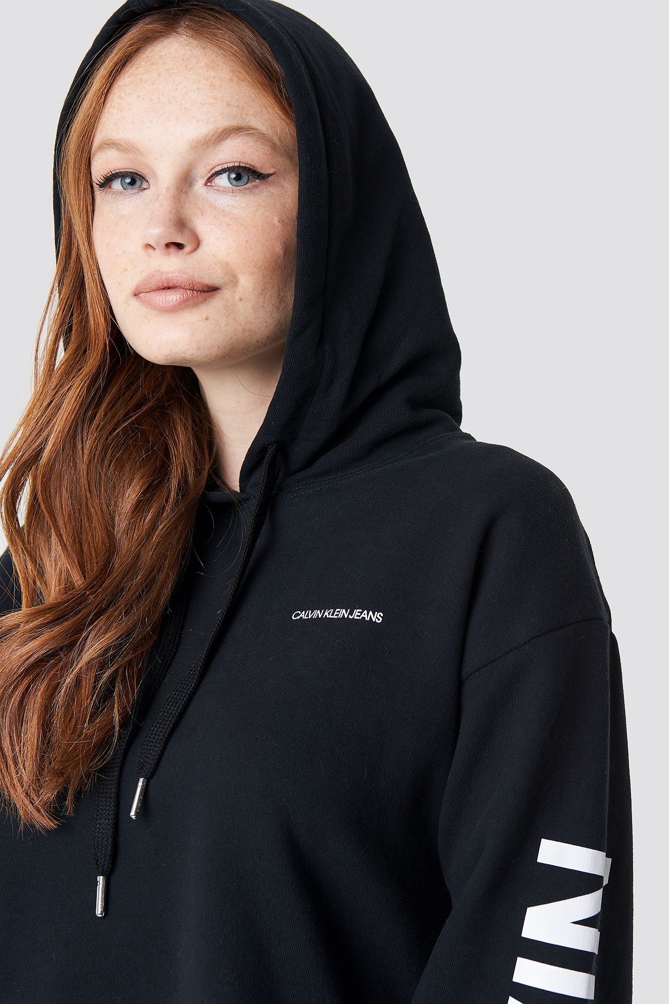 Cropped Institutional Hoodie NA-KD.COM