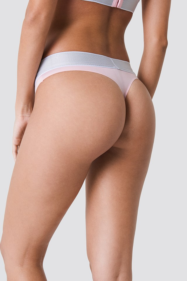 Customized Stretch Thong Attract