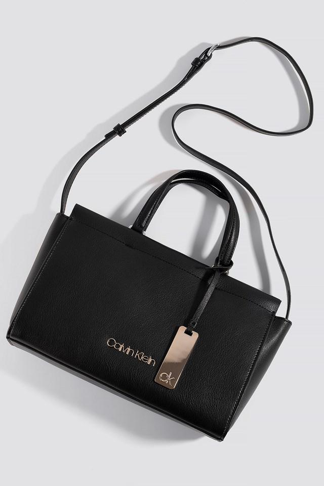 Enfold Med Tote Bag Black