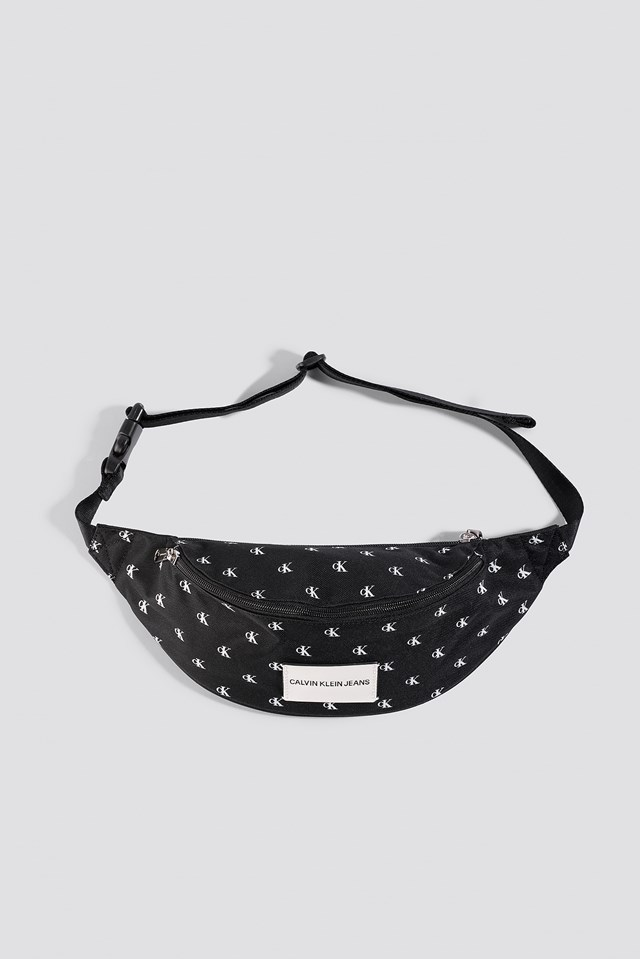 Essential Mono Cp Waistbag Black/White