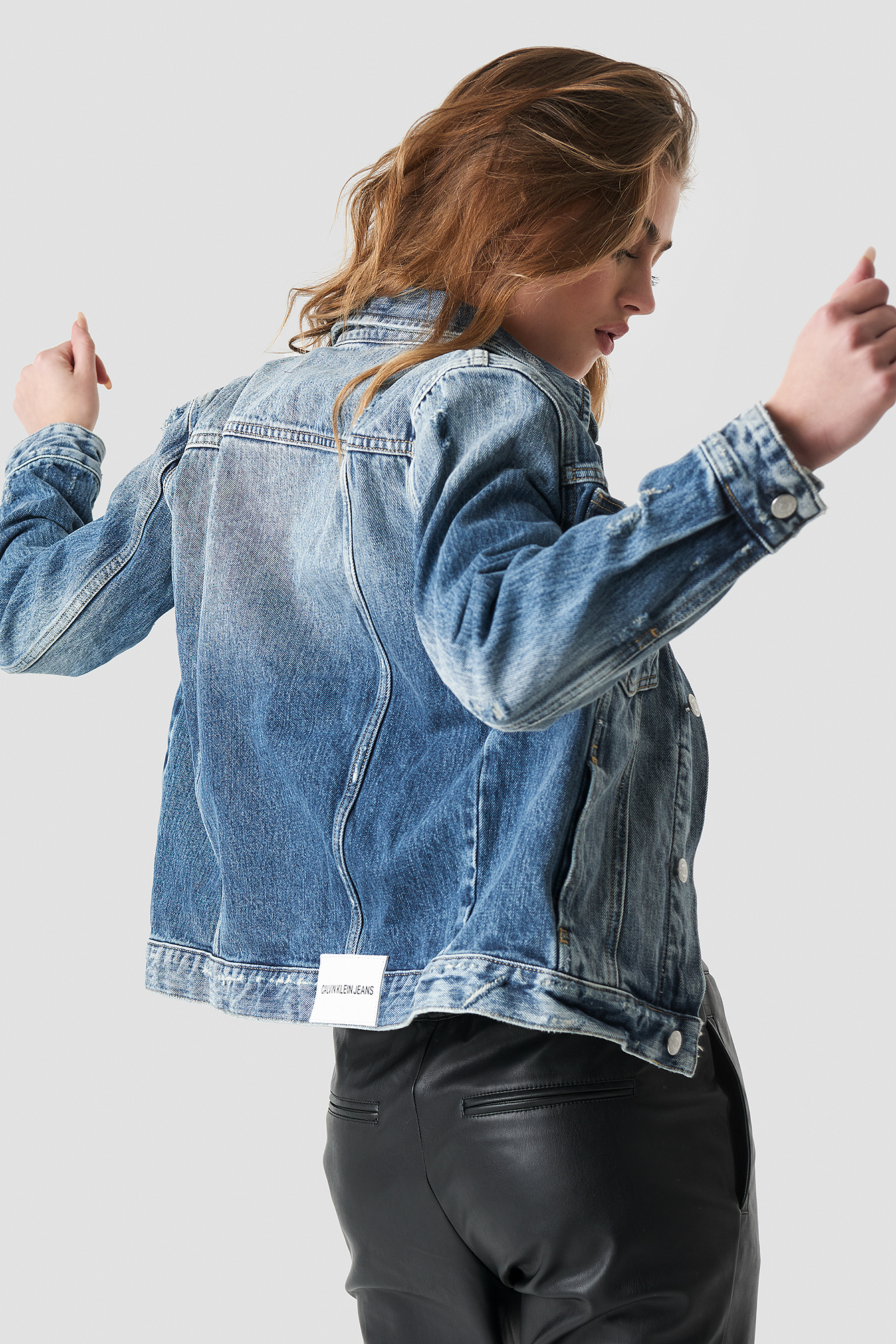 Foundation Omega Trucker Jacket NA-KD.COM