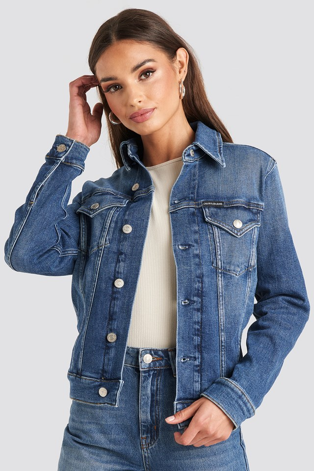 Foundation Trucker Jacket Calvin Klein