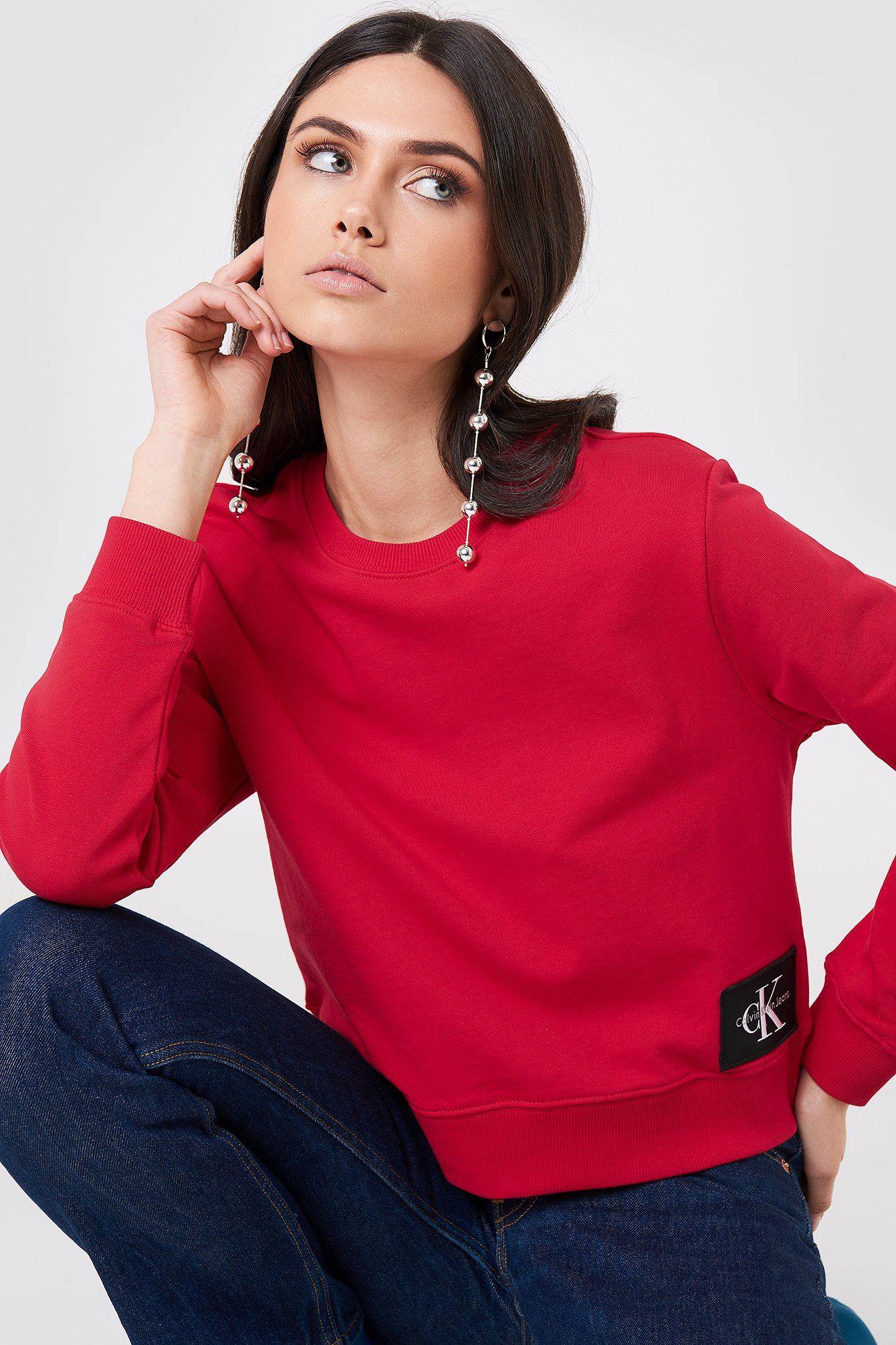 Tango Red/Ck Black Harrisi True Icon Crew Neck