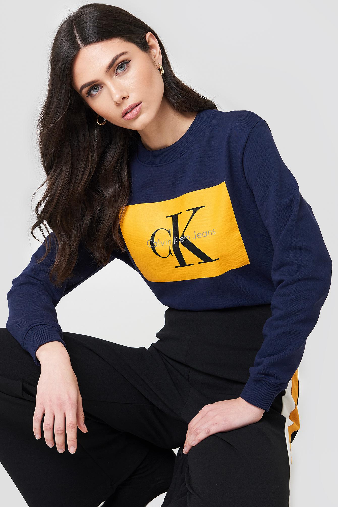 combien Magasin De Dédouanement Calvin Klein Hebe True Icon Sweater En Vente En Ligne 1SmsILtgy