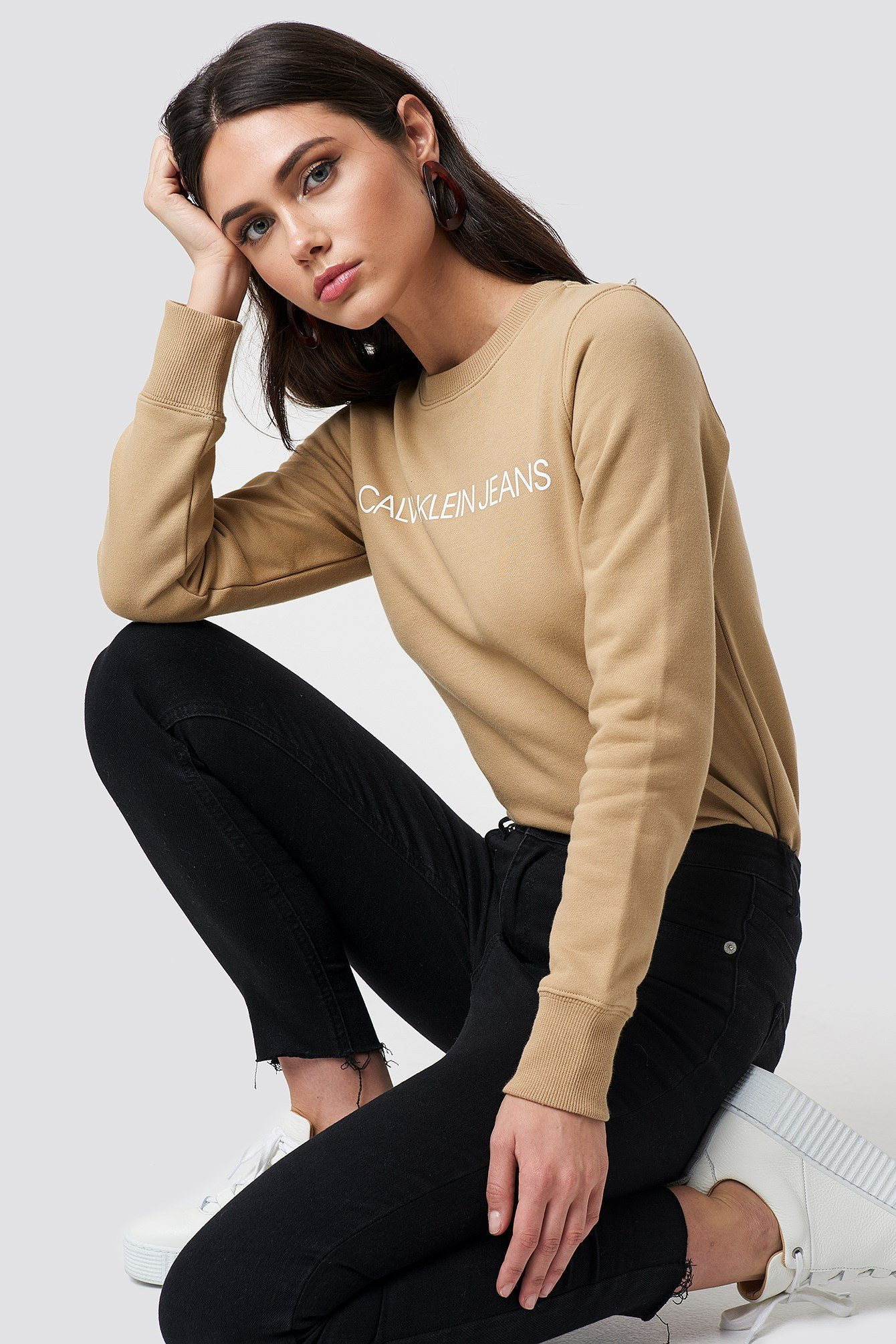 Institutional Regular Crew Neck NA-KD.COM
