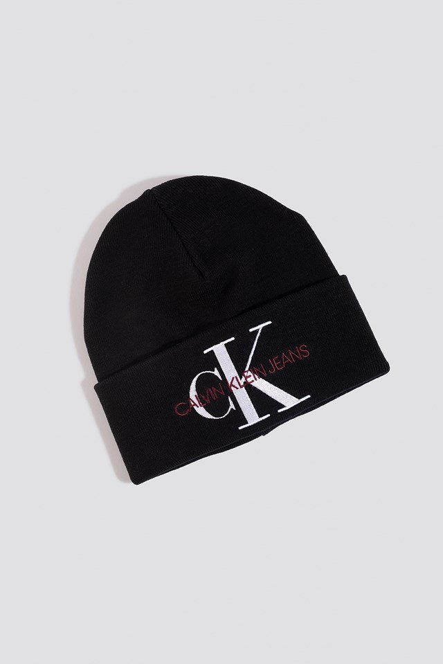 J Basic Women Knitted Beanie Hat Black Beauty