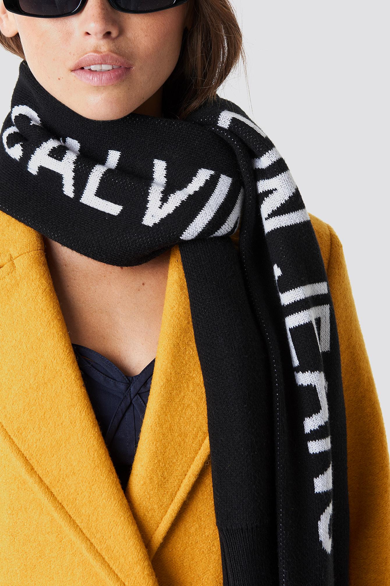 J Calvin Klein Cuff Scarf NA-KD.COM