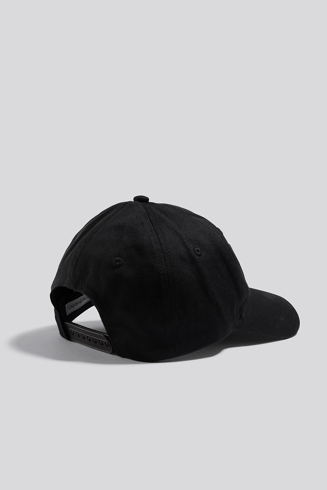 J Institutional Logo Cap Black Beauty
