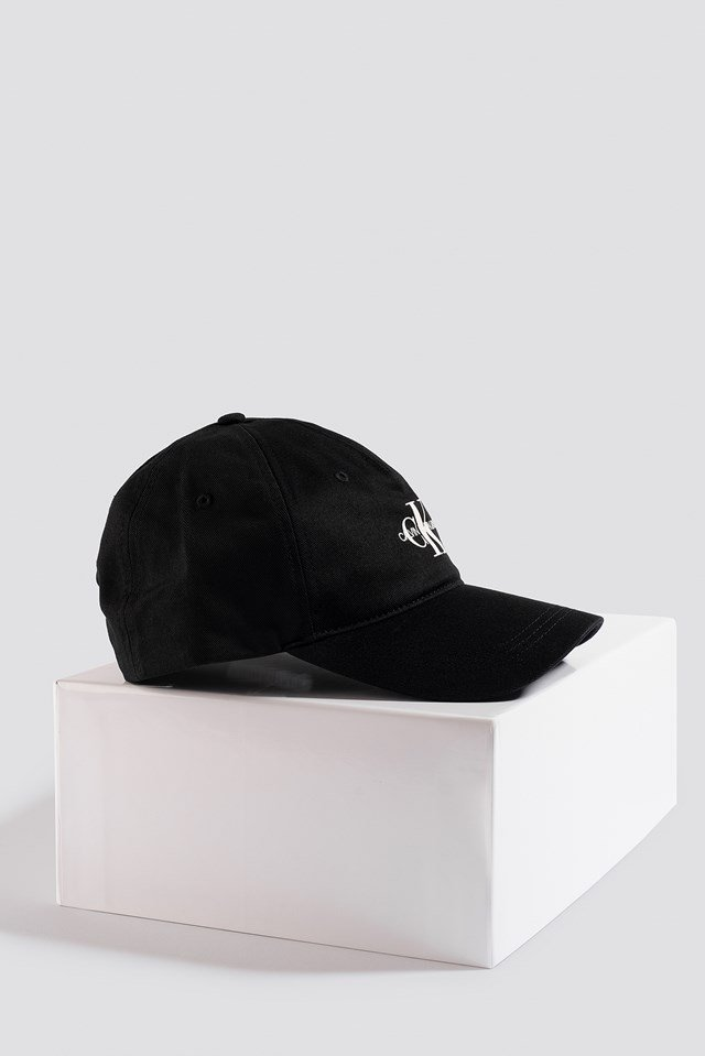 J Monogram Cap Black Beauty