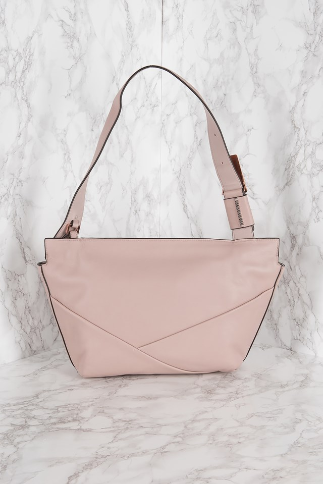 Jillian Lux Medium Shoulder Bag Frappe