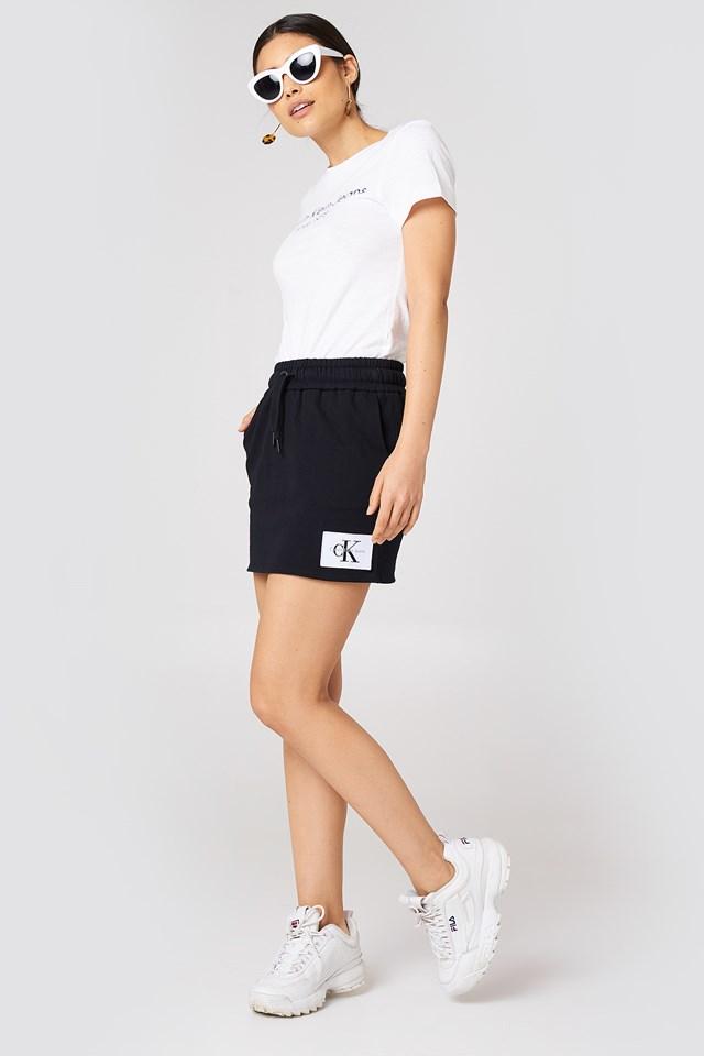 Kildri True Icon Skirt Ck Black/Bright White