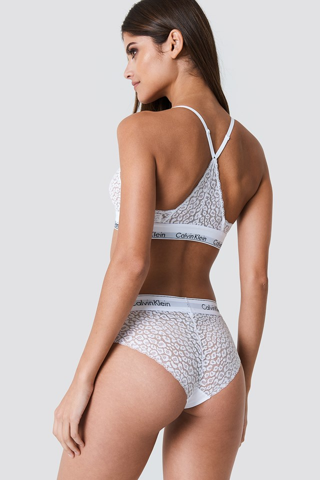Lace Panties White
