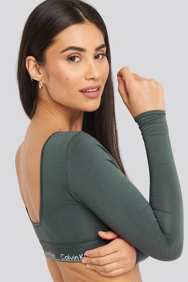 L/S Bralette Green
