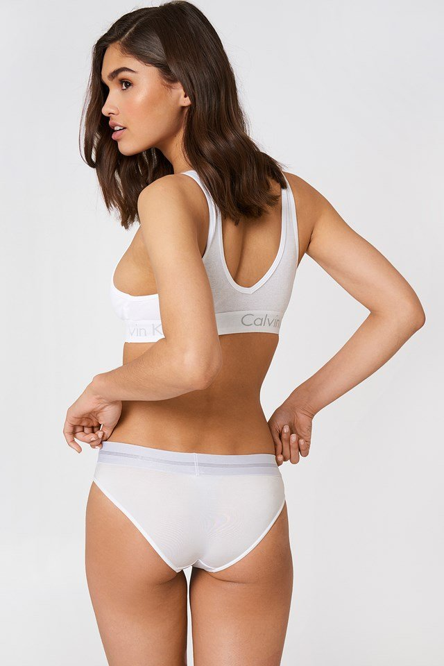 Unlined Wirefree Bralette White