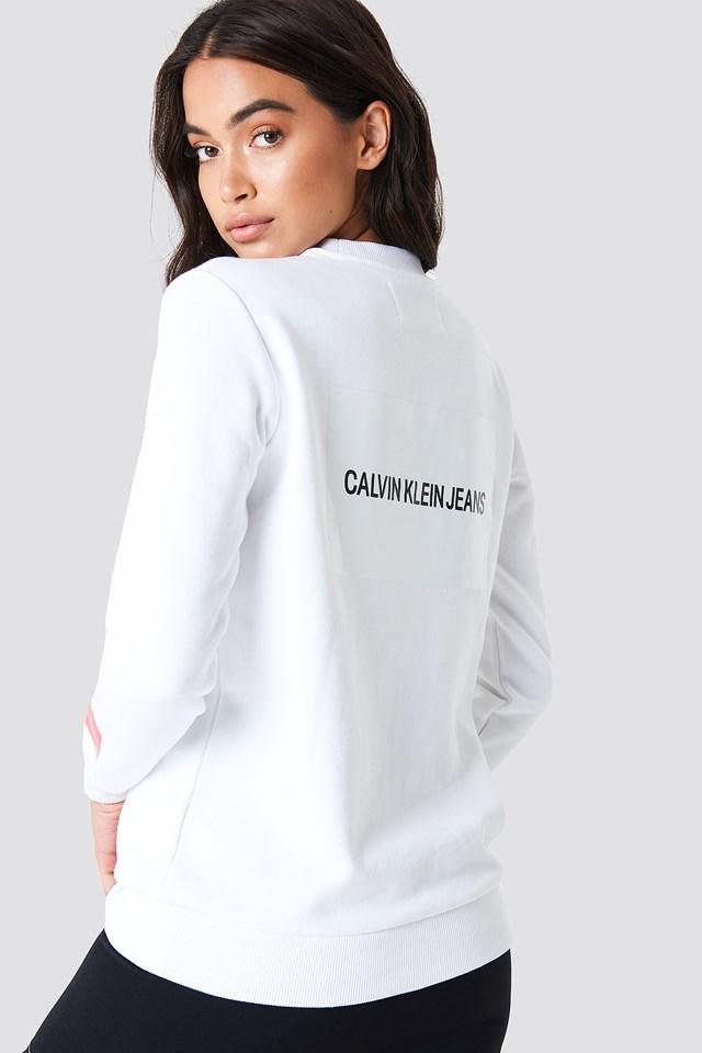 Bluza Multi Logo Bright White