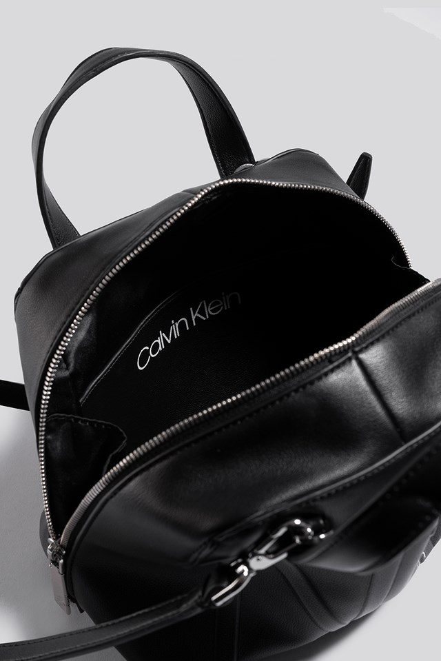 NY Shaped SML Duffle Bag Black