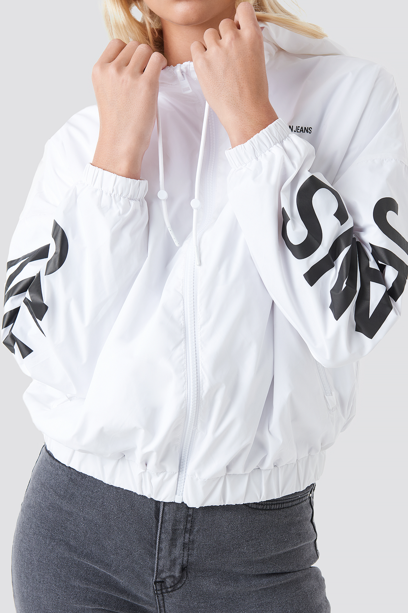 Nylon Windbreaker NA-KD.COM