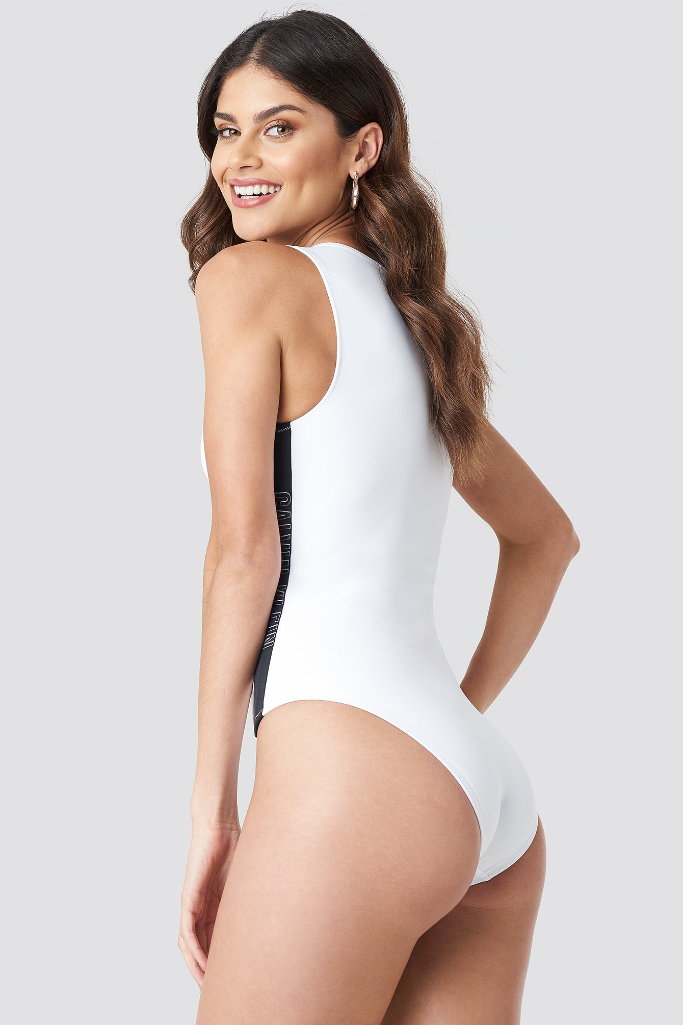 One Piece Front Zip Swimsuit NA-KD.COM