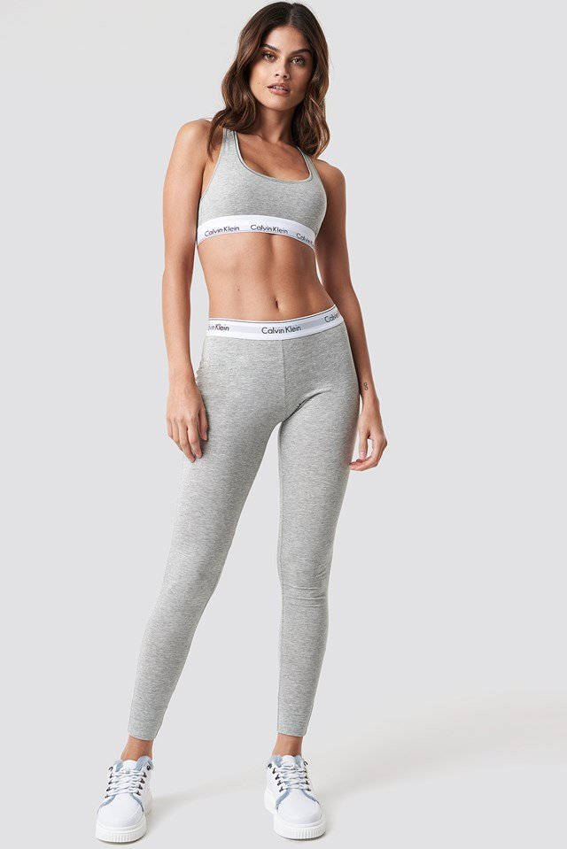 Pyjama Pant Modern Cotton Grey Heather