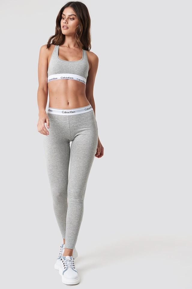 Pyjama Pant Modern Cotton Grey Heather