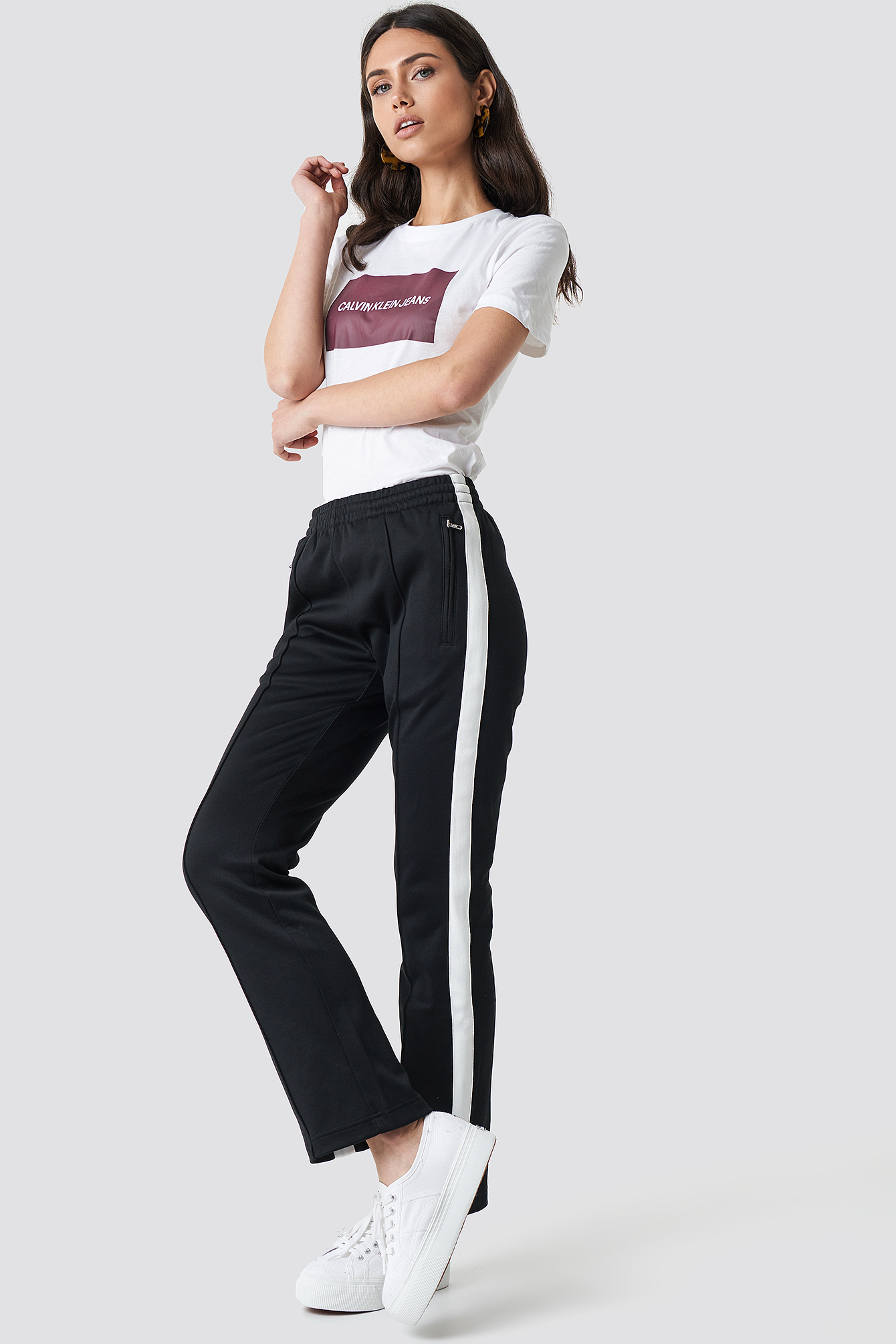 Side Stripe Track Pant NA-KD.COM