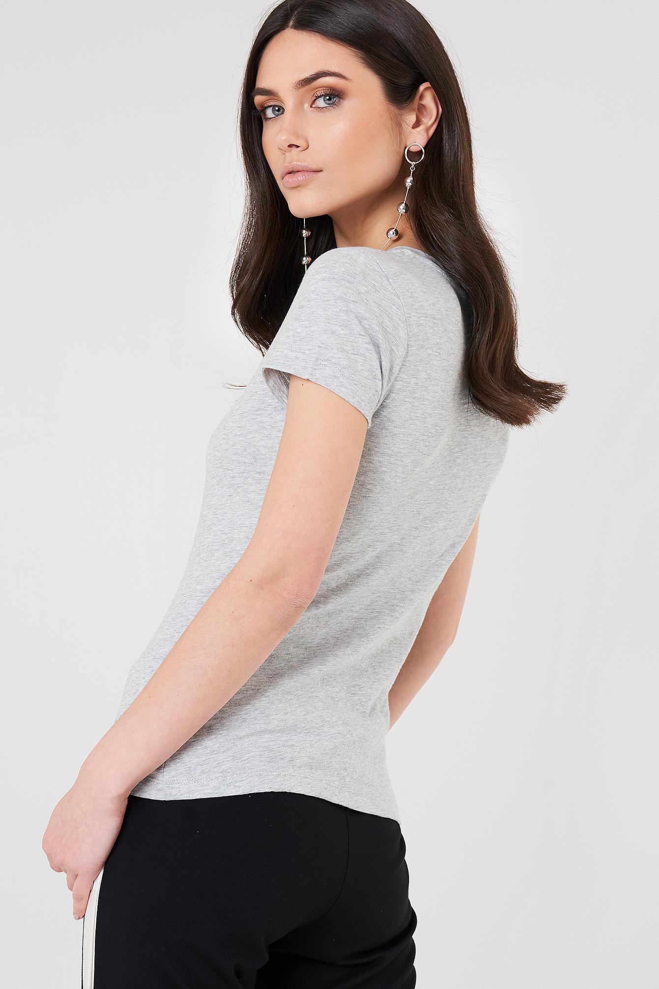 T-shirt Tamar-49 Crew Neck NA-KD.COM
