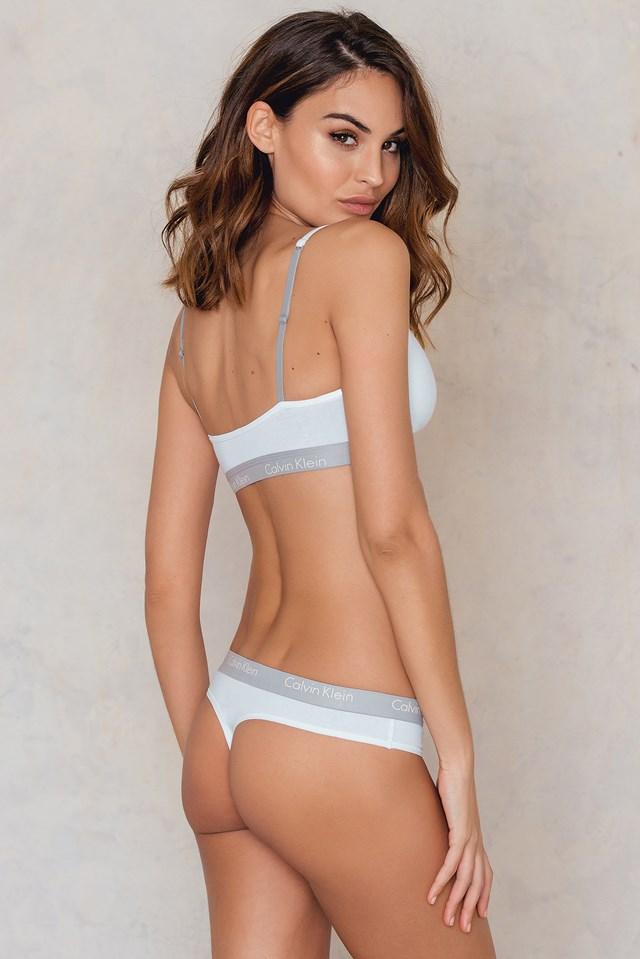 Thong One Cotton White