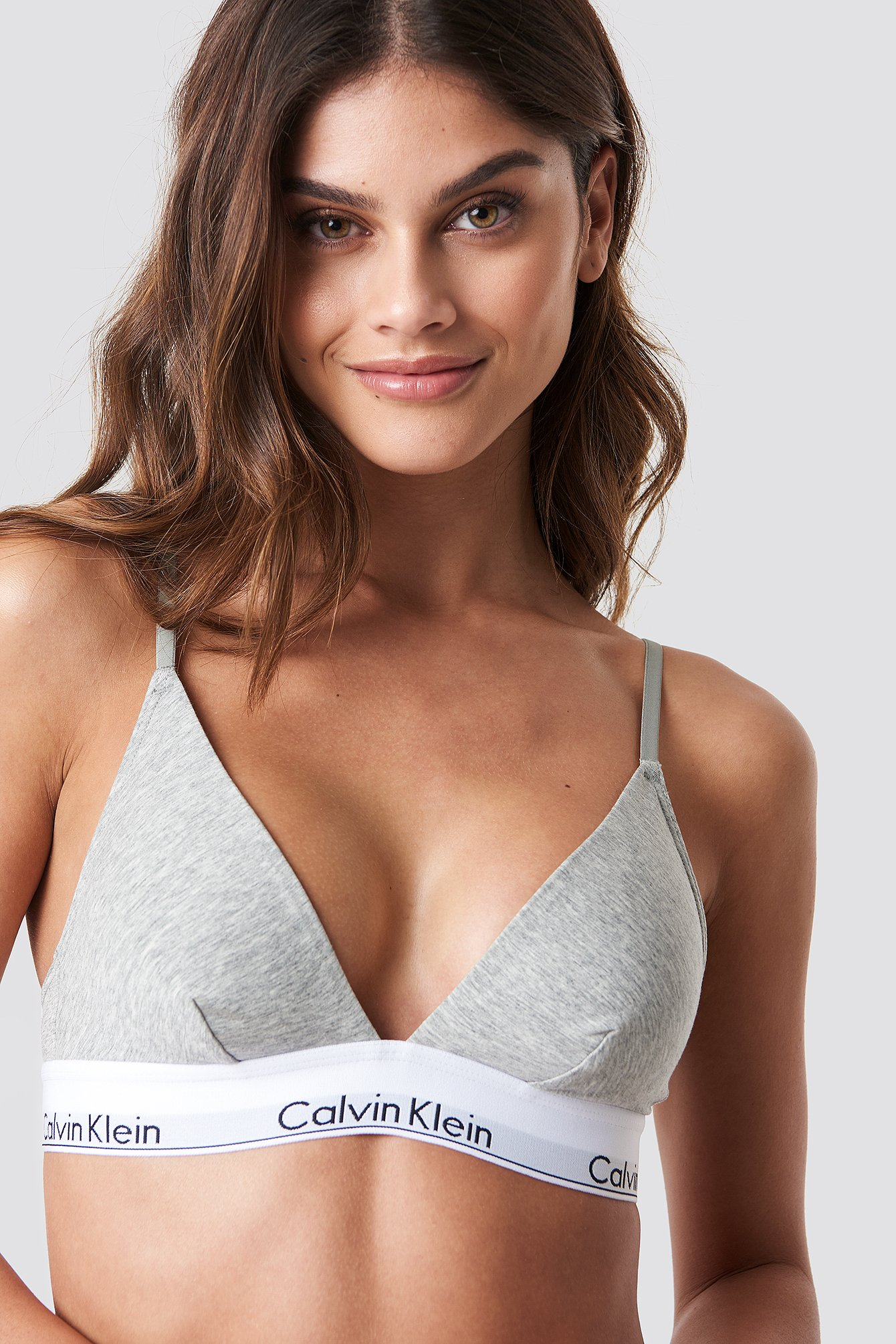 f177934dad Triangle Bra Modern Cotton Grey Heather