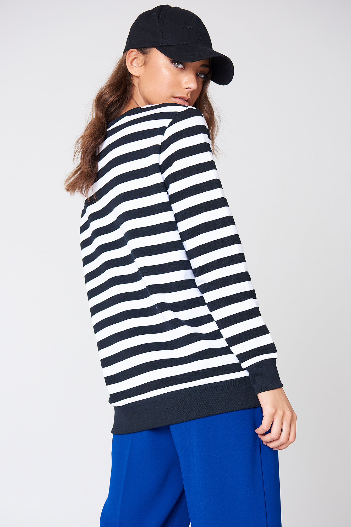 True Icon Stripe Sweatshirt NA-KD.COM