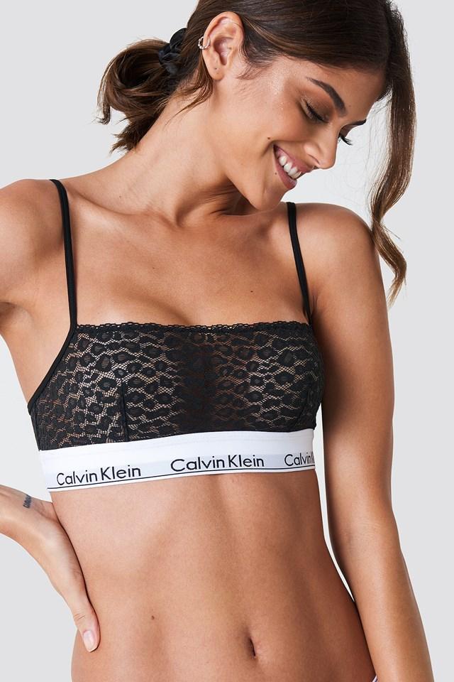 Unlined Lace Bralette Calvin Klein