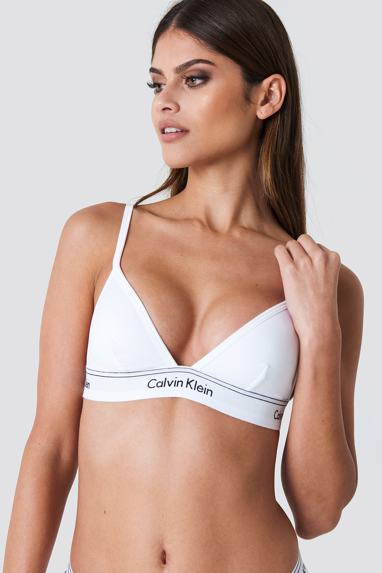 Unlined Triangle Bra NA-KD.COM