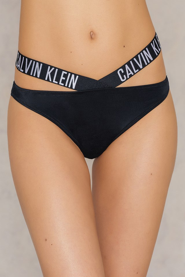 X Bikini Bottom Black