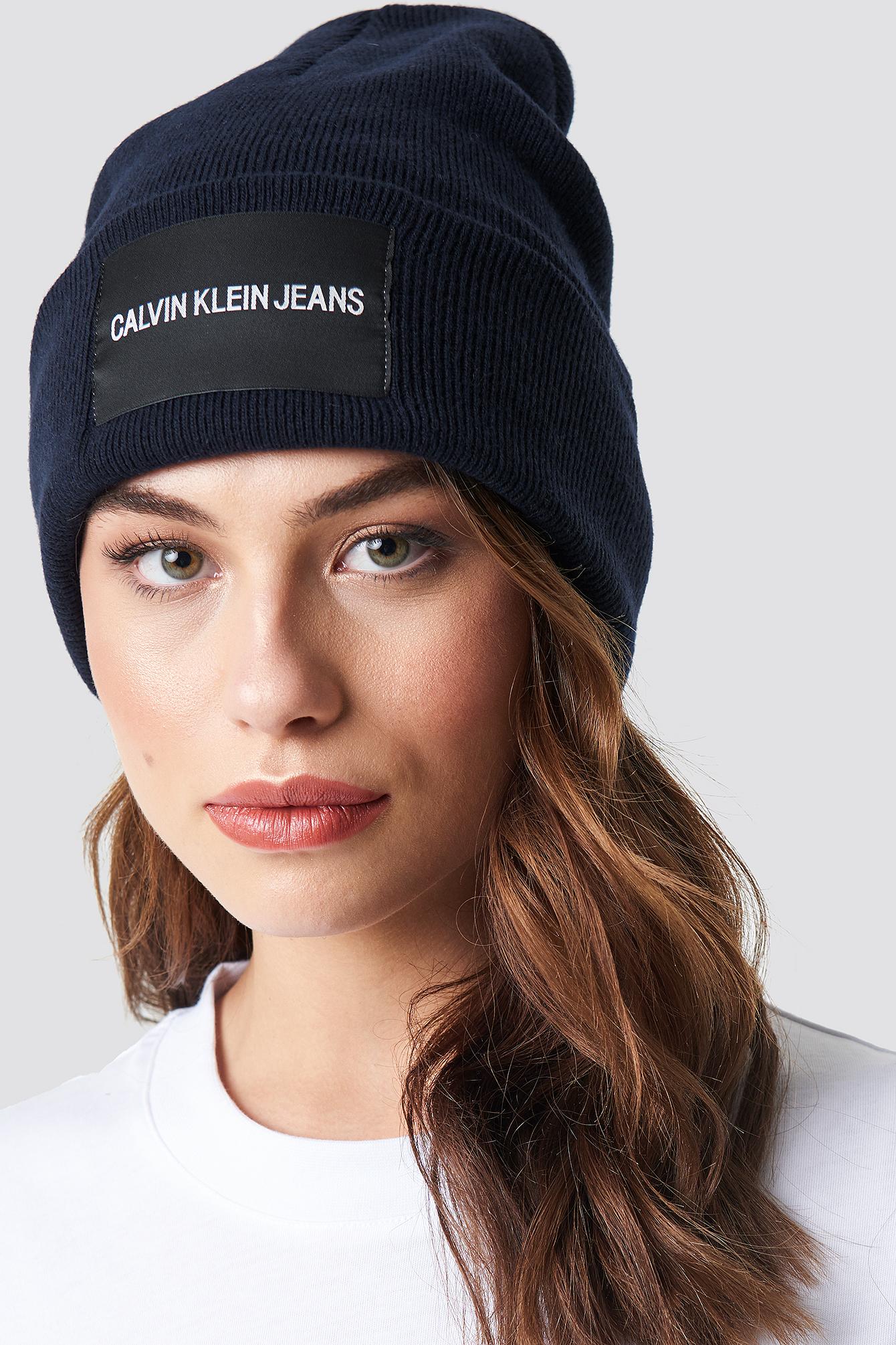 J Calvin Klein Jeans Beanie W NA-KD.COM