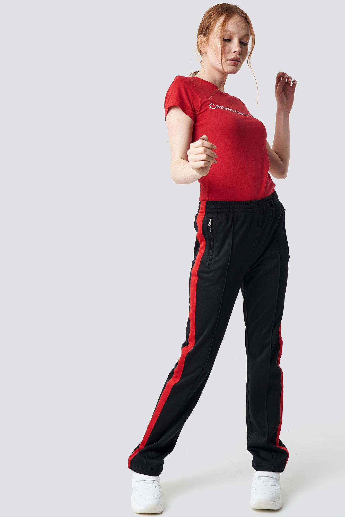 HR Side Stripe Track Pant NA-KD.COM