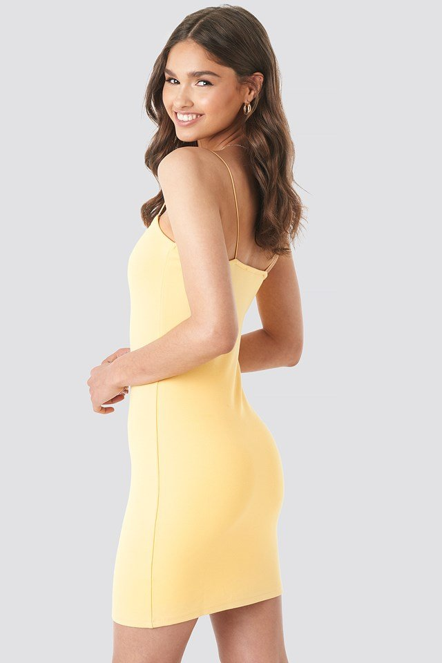 Basic Bodycon Dress NA-KD.COM