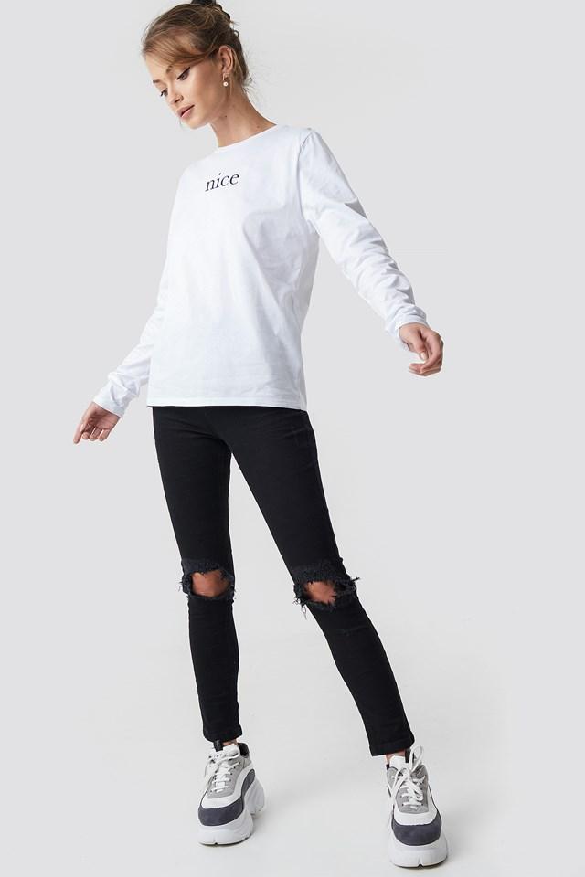 Nice Long Sleeve NA-KD.COM