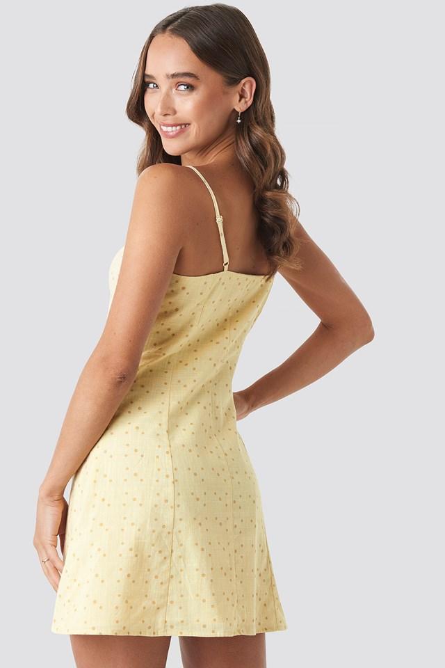 Button Down Mini Dress NA-KD.COM