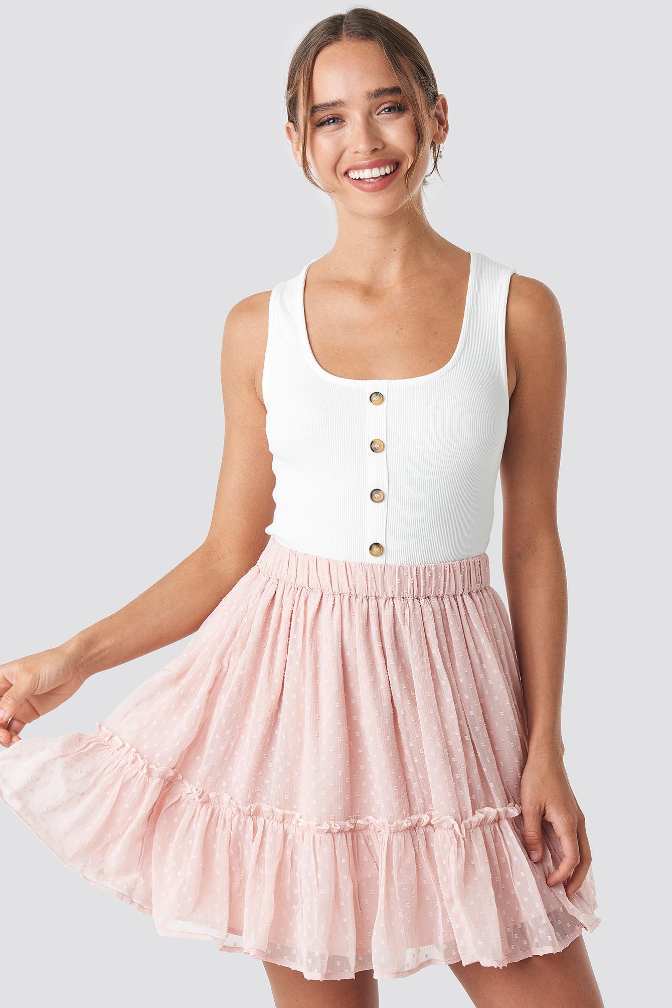 Flowy Mini Skirt NA-KD.COM