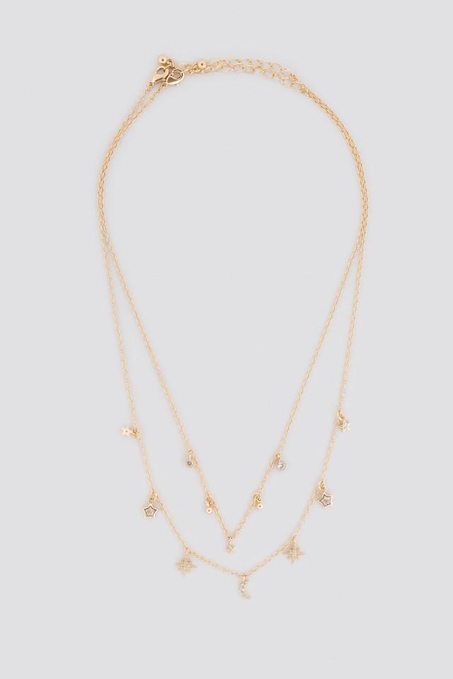 Multi Pendant Double Necklace NA-KD.COM